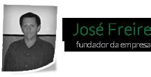 José Freire - Fundador da Empresa